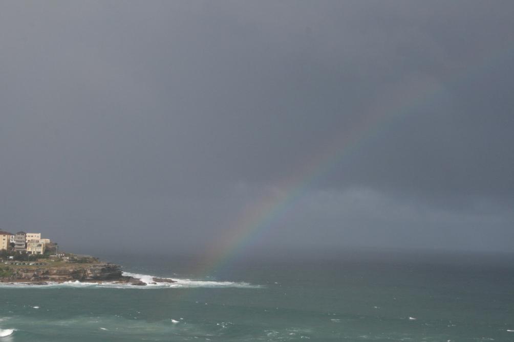 Rainbow Over Bondi