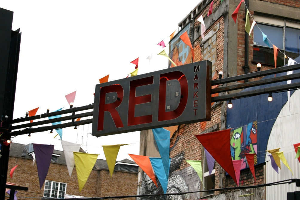 red market, shoreditch