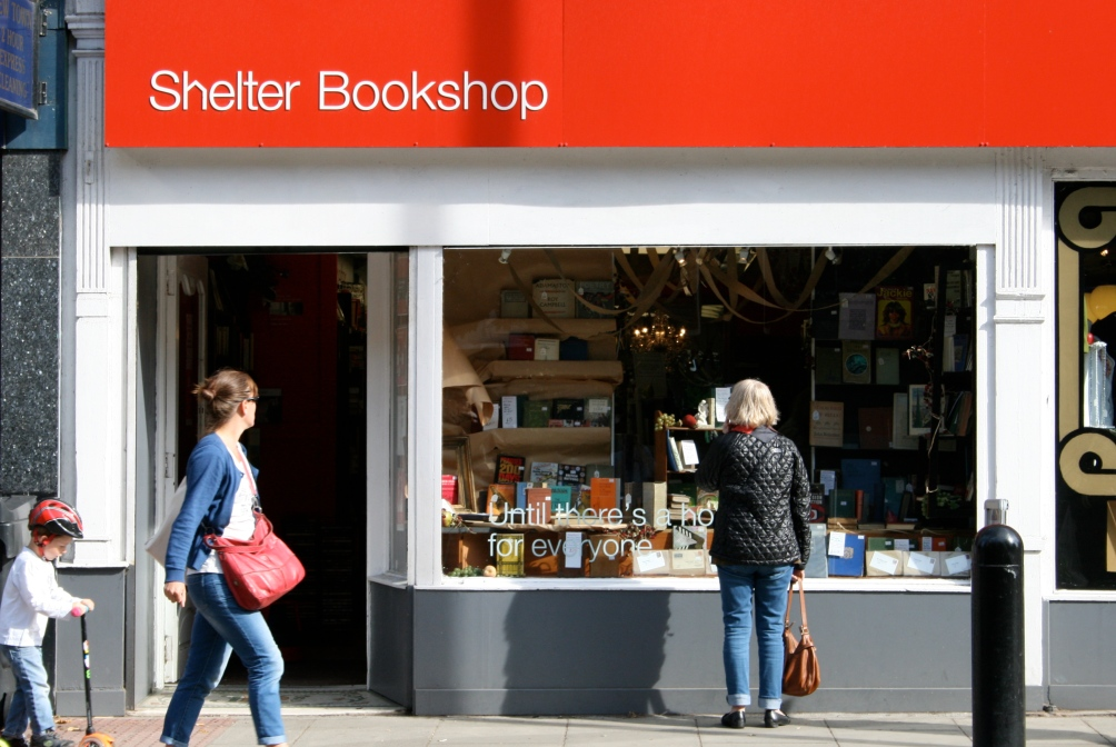 shelter bookshop, edinburgh